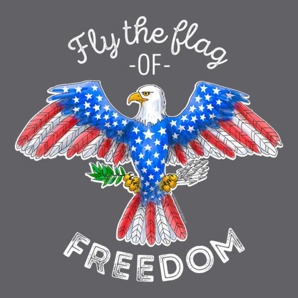Kids Patriotic Eagle