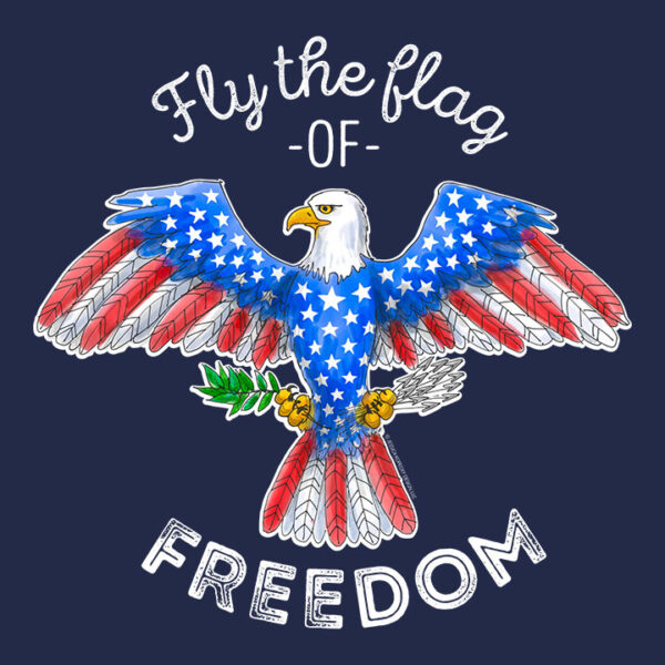 Toddler Patriotic Eagle Shirt