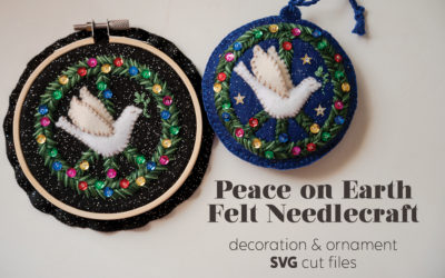 Peace on Earth Felt Needlecraft
