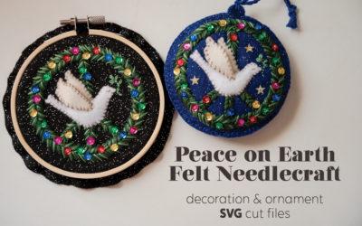 Peace on Earth Felt Needlecraft