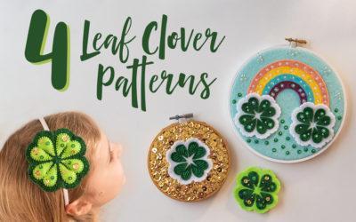 4 Leaf Clover St. Patty's Day Crafts