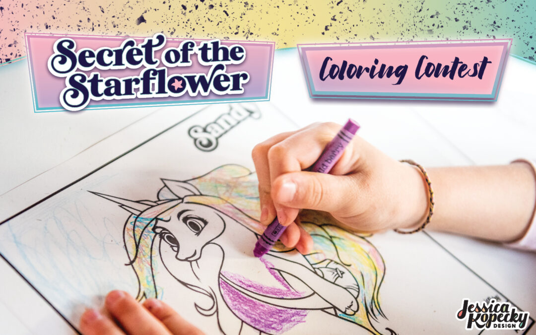 Secret of the Starflower Coloring Contest