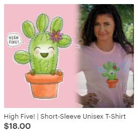 High Five Funny T-shirt